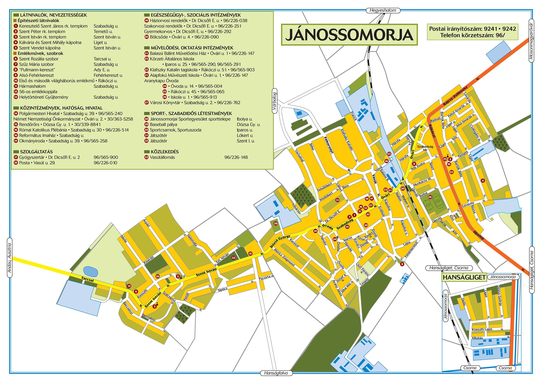 jánossomorja térkép Térkép | Jánossomorja Város honlapja jánossomorja térkép